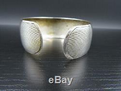 K39 Art Deco Vintage Bracelet Scheid New Gold 835 Silver