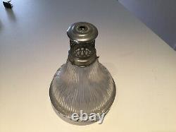 Luster Holophane Vintage Lamp Industrial Design Factory Workshop Art Nouveau