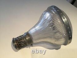 Lustre Holophane Lamp Vintage Industrial Design Factory Workshop Art Nouveau