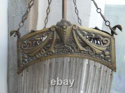 Lustre Pendant Pendant Lamp Lamp Vintage Art Nouveau Hector Guimard
