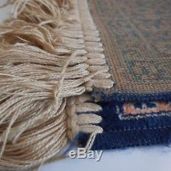 Machine Manufacturing Wool Rug Vintage New Design Art Xxth France N2326