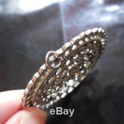 Mandala Lotus Flower Pendant Metal Jewelry Vintage Art Accessory New N4135