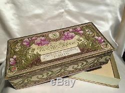 Maubert Violet Adore Soap Box Art Nouveau1900 Vintage Soap Box