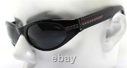 Missoni M270 By Safilo Men's Sunglasses Oval Wrap Black Vintage 90s
