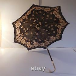 N2006 Umbrella Beautiful New Era Art Deco 1900 1920 Vintage Handmade France