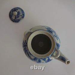 N2767 Chinese Ceramic Sandstone Tea Vintage Art Nouveau Design 20th Pn