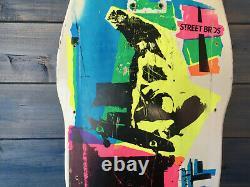 Og Christian Hosoi Pop Art Vintage Deck Skateboard Collector No Santa Cruz G-s