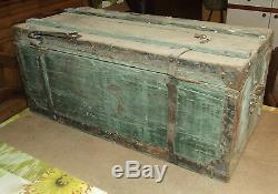 Old Botteront Chest Travel Retro Vintage Wood 1900.72 X 33 X 32 CM