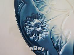 Old Ceramic Plate Art Nouveau Premier Xth Century Vintage Pottery 00