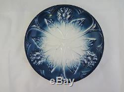 Old Plate Ceramic Art Nouveau Premier Twentieth Century Vintage 1900 R91