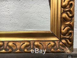 Old Style Photo Frame Vintage Art Nouveau Art Nouveau Antique 44.5 X 33.5 CM