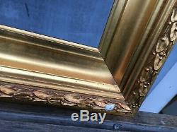 Old Style Photo Frame Vintage Gold Profilrahmen Gründerzeit Art Nouveau 34 X 23