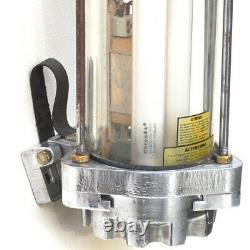 Original Antique Explosion Proof German Vintage Fluorescent Twin Tube Light