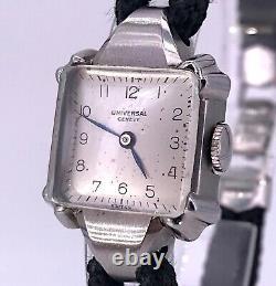 Our Universal Geneva Woman Art Deco Working Vintage Watch 18,5 MM 25048