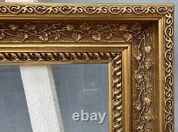Photo Frame Art Art New Floral Profilerahmen Antique 51 X 40.3 CM Vintage