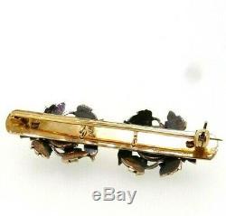 Pin On Epoch Art Nouveau Solid Gold 18 Kt Diamond Antique Vintage Ans'10