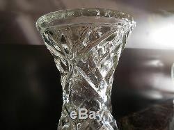 Pot Pourri Vases Crystal Glass Art Deco Art Nouveau Vintage Ceramic By Pn
