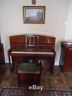 Professional Piano Danemann Art Deco Leopard Model 1938 Excellent Condition