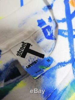 Rare 80s Vintage Dead Stock Levi's USA Art T-shirt Size M