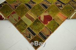 Rarity Vintage Patchwork Oriental Rugs Erlesen 300x200 Design Art Deco 2210