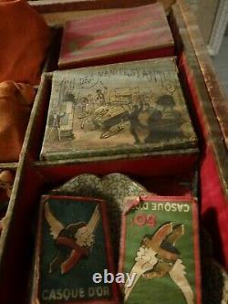 Set Games Reunited Jlr 1900 Art Nouveau Key Old Vintage No Circa No Saussine
