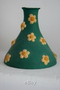 Set Of 3 Vases Latex Pylons Pylon Vintage -années 70 S. Roberty