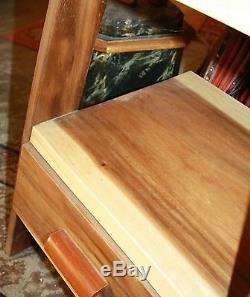 Shelf / Vintage Scale In Teak