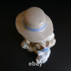 Valencia Spain Rex Statue Vintage Art Deco Porcelain Figure Handmade N5099