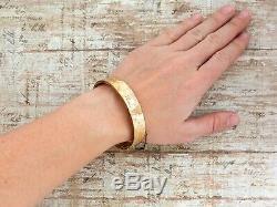 Vintage Art Nouveau Antique 14k Gold Filled Gf Pres Co Wedding Bracelet
