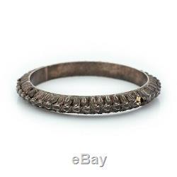 Vintage Art Nouveau Antique 925 Sterling Silver Bracelet Ottoman Chassé