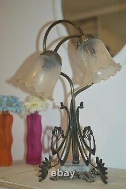 Vintage Art Nouveau Table Lamp Art Deco Table Lamp