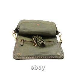 Vintage Bayside Leather Shoulder Bag 84 Made In Italy Art. 422 B