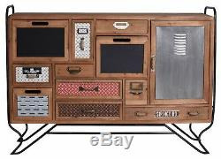 Vintage Commode Art Deco Console Cabinet Living Room Loft Studio Buffet Old