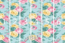 Wall Tables Without Vector Vintage Couture Floral Patt Decoration Art Print