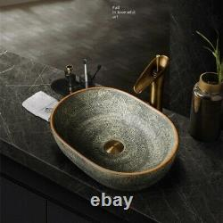 Washbasin Washbasin Evier A Poser Art Deco 47cm X 33cm Vintage