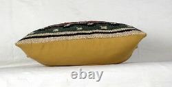 10 Pièces Vintage Kilim Taie Oreiller 18x18 Main Tissé Jute Rug Coussin Rustique