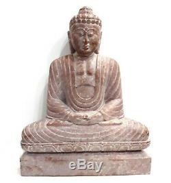 10 Vintage Art Stéatite Bouddha Figurine Statue Main Sculpté Religieux Idol