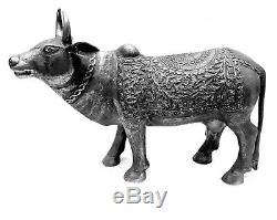 11 Métal Sculpture Statue de Vache Look Vintage Maison Décor Art Statue