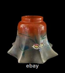 2 Recharge Lustre Shade /Classic/Remplacement/Glass Bell/ Painted/ Victorian