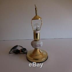 2 éclairages lampes chevet GOOD LAUREL OSOO vintage déco art nouveau N3736