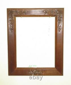 35x42 CM Cadre Pour Cadres Antique Vintage Art Nouveau Floral Liberty BM37