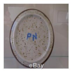 3 coupelles céramique grès fait main vintage art nouveau déco PN France N25