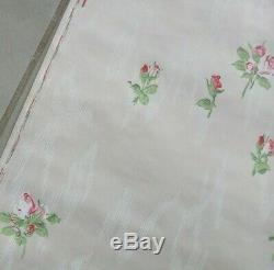 5 rouleaux papier peint vintage décor de roses boutons de roses avec marge 1930