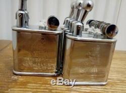 6 Briquets essences ELGE Vintage art déco (Neuf)