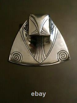 AWESOME vintage WMF Jugendstil silverplate inkwell antique art nouveau VERY RARE