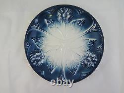 Ancienne Assiette en Céramique Art Nouveau Premier Xxe Siècle Vintage 1900 R91