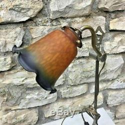 Ancienne Lampe de Bureau Marque PRATIC modèle déposé, Art déco vintage
