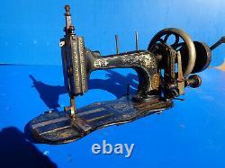 Ancienne petite MACHINE À COUDRE MANIVELLE WERTHEIM Allemagne francfort vintage