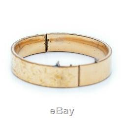 Antique Vintage Art Nouveau 14k or Rempli Gf Prst Co Mariage Bracelet