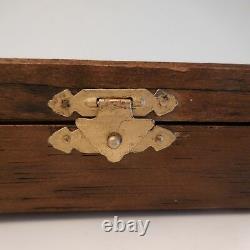 Armoire boite à clefs cabinet key box vintage art nouveau déco France